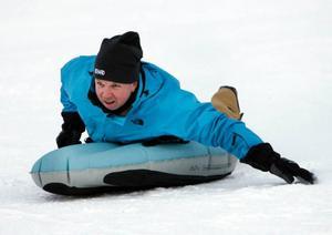 Richard Herrey älskar att leka, men ser gärna sig själv som vinnare av Vinterspelen.