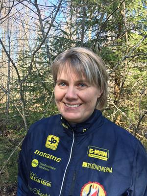Monika Östberg, Alfta Ösa Orienteringsklubb, började som ungdomsledare för 30 år sedan.