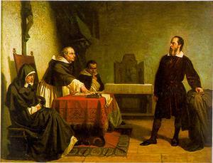 Galileo ställdes inför inkvisitionens domstol för sin teori om att jorden kretsade kring solen och inte tvärtom.
