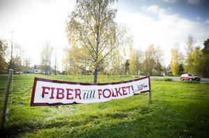 Under parollen Fiber till folket, har Helsinge Net Bollnäs AB byggt ut fiberoptik på bland annat Granbergsområdet i Bollnäs i år.