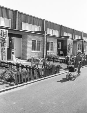 Arosekens hus på Brandthovda i augusti 1968.