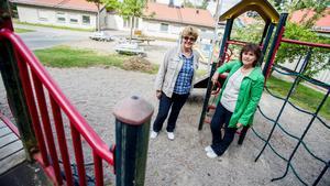 Yvonne Kjellberg och Annika Hansson från förskoleföretaget Myca flyttar in i Tellebys lokaler i Järna i höst efter att lokalerna stått tomma i fyra år.