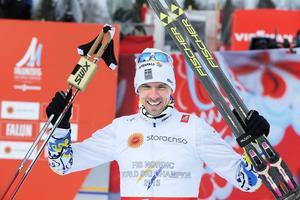 Sundsvallsbon Johan Olsson avslutade karriären med ett guld, ett silver och ett brons under VM i Falun.