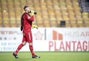 Oscar Jansson, målvakt ÖSK Fotboll.