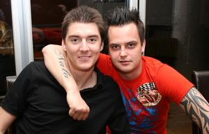 Tabazco. Johan och Martin