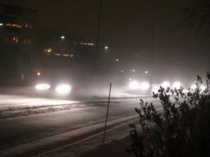 Senare på julafton blåser upp på många håll i länet och det blir regn. Prognosen visar 20 sekundmeter i Västjämtland och strax därunder i Östersund.