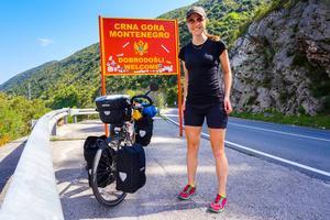 På gränsen till Montenegro.