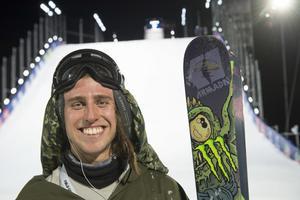 Henrik Harlaut fick ingen medalj i slopestyle-finalen Arkivfoto: Erik Nylander / TT