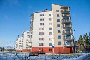 Remonthagens hus är ett exempel på de många bostäder som byggts i Östersund.