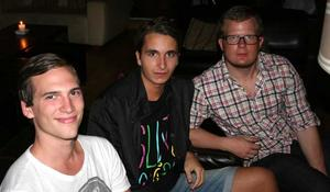 Tabasco. Fredrik,Mirza och Joakim