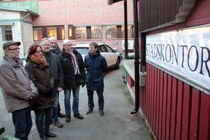 De vill bygga en stad i köpingen. I måndags tog Centrumgruppen sitt första steg genom inviga det nyinrättade