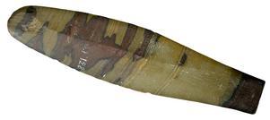 Dolk av skiffer, funnen vid Djursjön år 1872.