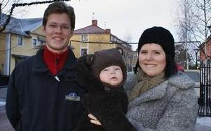 Cia Embretsen och Emil Bewö gör musikalen Stick iväg Jack i Rättviksparken i sommar. Cia skrev manus under mammaledigheten med sonen Valdemar.Foto: BIRGIT NILSES GRÖNDAHL