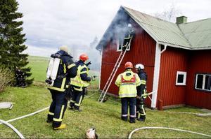 Inga personer kom till skada i branden.