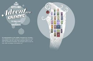 Julkalender för konst görs av ateljéföreningen Gaffels konstnärer.