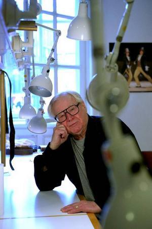 """""""Jag tar mina toner här och förväntar mig att snart bli utnämnd till hovsångare"""", säger Jan Malmsjö, snart 78, som debuterar på Stockholmsoperan.Foto:JANERIK HENRIKSSON/SCANPIX"""