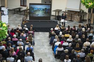 Open campus höll sin första föreläsning i Sundsvall under torsdagen.