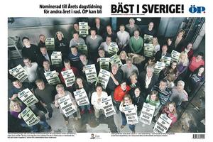 ÖP blev Årets dagstidning 2006.