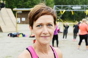 För instruktören Camilla Bruman är uteträningsanläggningen en dröm som blir sann.