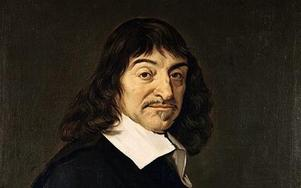 Descartes. målning av Frans Hals.