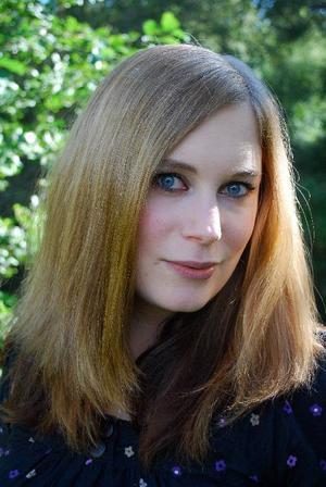 Helena Dahlgren, bloggare på Bokhora.Foto: Jessica Björkäng