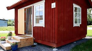 Den nya bagarstugan som har blivit ett nytt turistmål i Höga kusten.