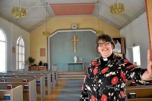 Ny pastor. Shirley Blair Warg är ny pastor i Missionskyrkan och den 15 september blir det installationsgudstjänst.