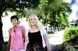 Lisa Wiik och Ann-Louise Kleen är båda företagare i Sandviken och tror mycket på den nya upphandlingstjänsten som är först i Sverige.
