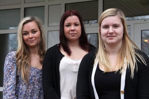 UF-med smak - Amanda Björklund, Sofie Olsson och Jennifer Jonsson.