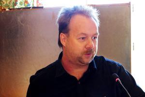 Ronny Karlsson, Sverigedemokraternas distriktsordförande i Jämtlands län.