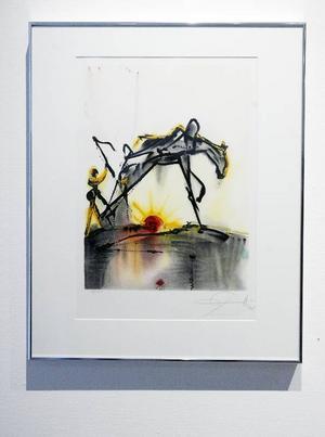 Arbetshästen av Salvador Dalí är Tim Takeuchis favorittavla.
