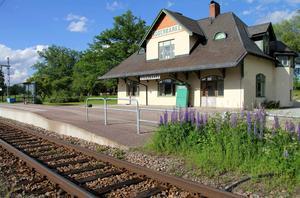 Söderbärke station är en av två stationer som under 2017 kommer att rustas upp.