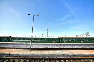 Många resenärer på Transmongoliska järnvägen väljer att kliva vid tågstationen i Ulan Bator.   Foto: Shutterstock.com