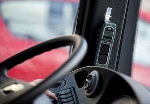 Sverige är världsunikt i antalet frivilligt monterade alkolås i yrkestrafik, till exempel bussar och taxibilar.