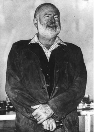 Ernest Hemmingway.   Foto: TT
