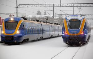 Norrtåg tvingas till bussning även i dag på grund av tekniska problem med tågen.