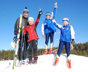Gunde Svan prisade Tuva Hedström (3:a), Michelle Cranning-Hillgren (1:a) och Tilda Ström (2:a) som gjorde finalheatet till en ren tjejaffär. I duellen med Gunde vann sedan Michelle även där.