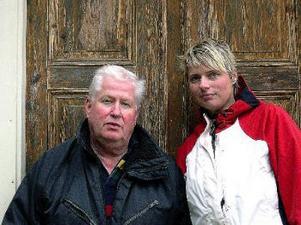Entusiasterna Carina Möllerberg och Anders Wästfelt gör Liden känt i filmsammanhang.