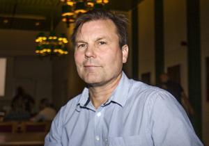 Lennart Wikström, ordförande i Söderhamns FF.