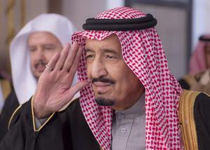 Saudiarabiens nya kung, Salman.