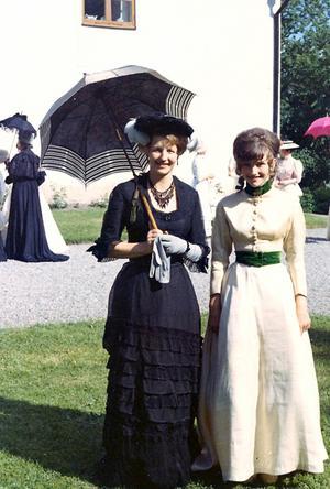 Margot Jansson med dotter Anna.