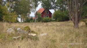 På promenad i Gäddeholm, tog jag denna lite höstliga bild.