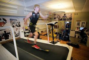 Under många skadedrabbade säsonger har rullbandet på Vintersportcentrum i Östersund blivit ett viktigt träningsredskap.