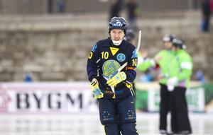 Kazakstans Rauan Issaliev är en annan av Eugene Laverys favoritspelare...