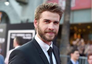 Liam Hemsworth på den amerikanska premiären av