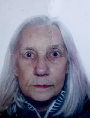 borta. Barbro Åkerblom, 72, har försvunnit under april.