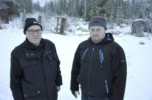 Jonas Johansson och Andreas Berglund är rejält irriterade efter den senaste tidens sabotage.