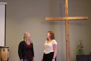 Hilde och Maja är båda uppväxta i kyrkan i Mohed.