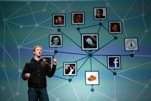 Facebooks grundare och vd Mark Zuckerberg.