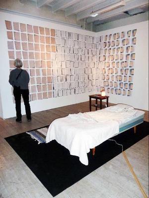 Nanna De Wildes verkfrån utställningen